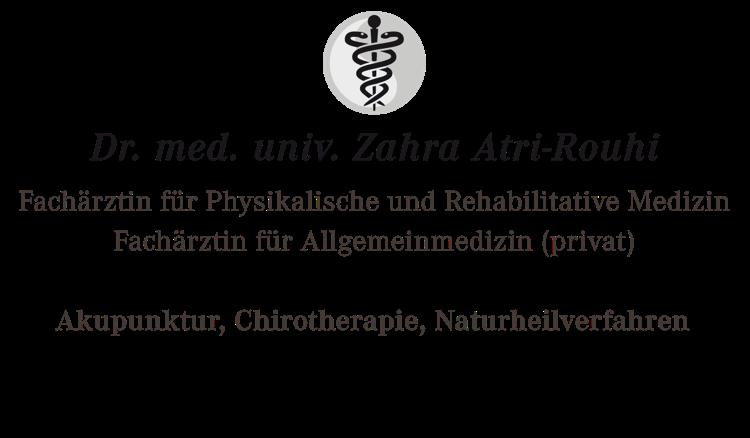 Dr. med. univ. Zahra Atri-Rouhi